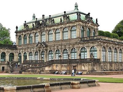 Zwinger Dresden -  Mathematisch Physikalischer Salon