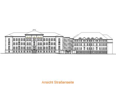 Umbau und Sanierung des Rainer-Fetscher-Gymnasiums zu einem 4zügigen Schillergymnasium