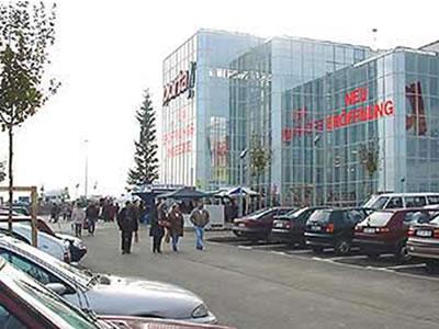 Neubau eines Einrichtungshause und Möbelmarkts