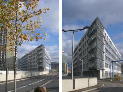 Neubau eines Bürogebäudes MK 4 mit Läden und Tiefgarage